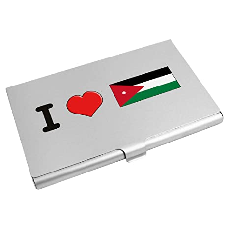 Azeeda I Love Jordan Tarjeta de Visita Titular / Tarjeta ...