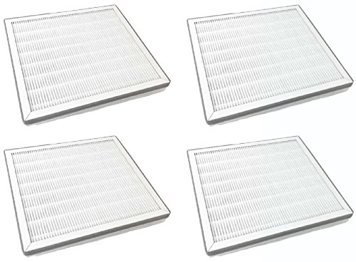 Nispira Replacement True HEPA Filter with Pre Filter Compatible with Pure Zone Purezone 3-in-1 Air Purifier, 4 Filters