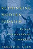 Rethinking Modern Judaism: Ritual, Commandment, Community (Chicago Studies in the History of Judaism)