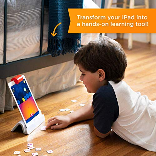 Osmo - Genius Starter Kit for iPad (NEW VERSION) - Ages 6-10 - (Osmo Base Included)