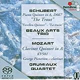 Mozart - Clarinet Quintet; Schubert - Trout Quintet
