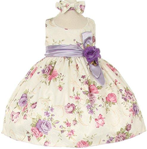 lilac baby dress - 9