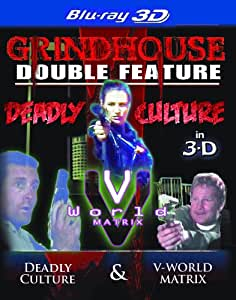Grindhouse Double Feature - Deadly Culture and V-World The Matrix [Blu-ray 3D]