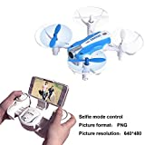 Mini RC Quadcopter Drone With Wifi HD Camera Live Video for Kids Indoor Toys FPV Helicopter