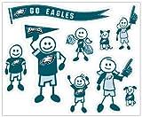 NFL Philadelphia Eagles Large Family Decal Set