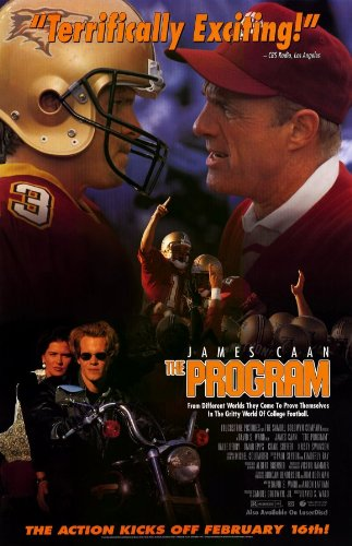 The Program Poster Movie 11x17 James Caan Craig Sheffer Kristy Swanson Halle Berry