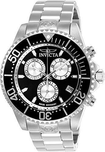 Invicta Pro Diver Chronograph Black Dial Mens Watch 26846 ()