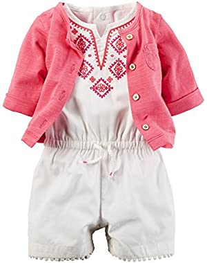 2 Piece Romper Set (Baby)