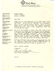 * CURT FLOOD * St. Louis Cardinals signed typed letter