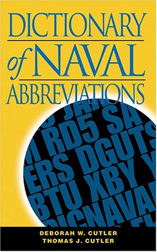 Dictionary of Naval Abbreviations (Blue and Gold)