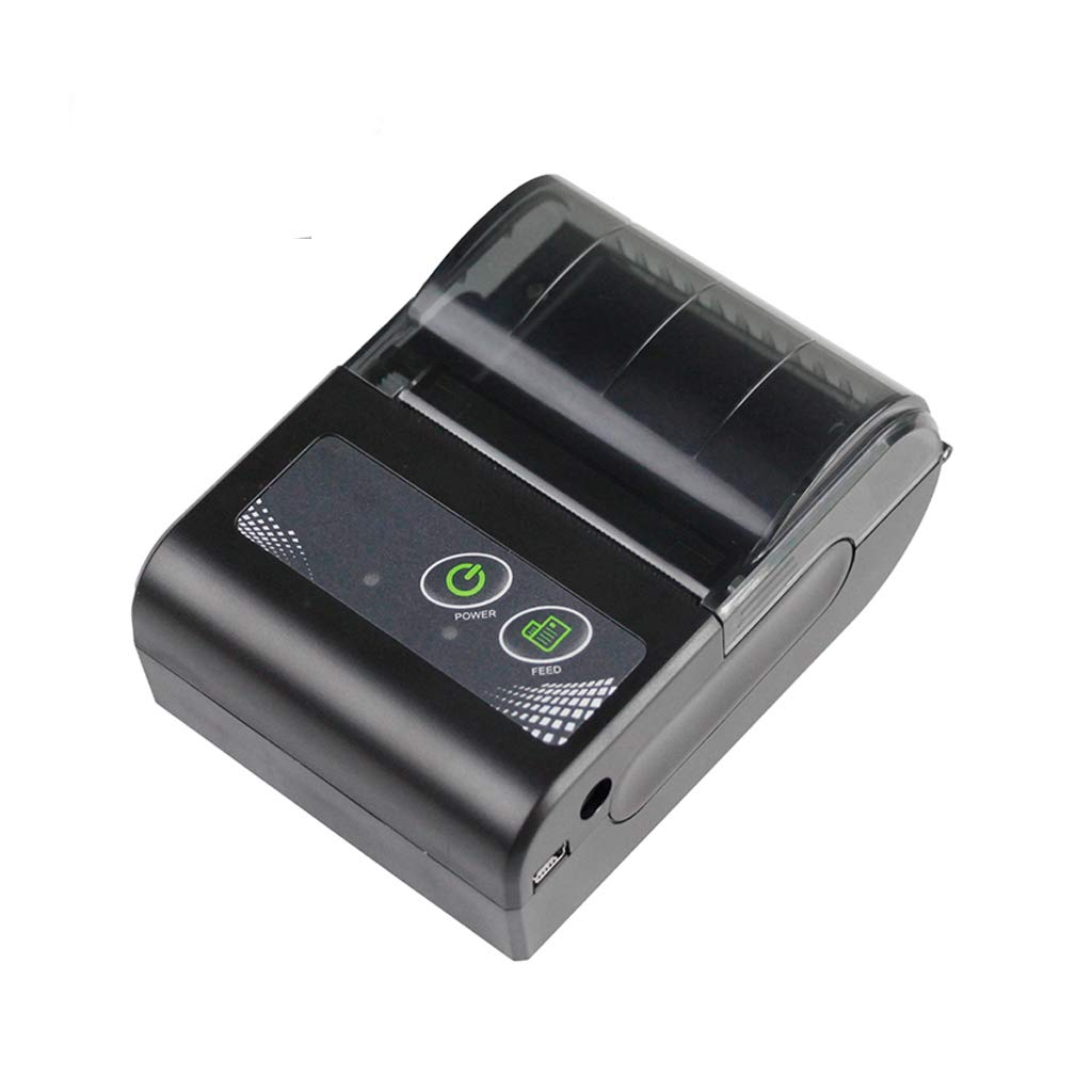 DZSF 58MM Mini Impresora Bluetooth Térmica Recibo inalámbrico portátil Bill Ticket Android iOS Pocket Impresora Pocket: Amazon.es: Deportes y aire libre