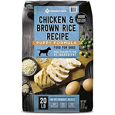 Member's Mark Exceed Dry Puppy Food, Chicken & Rice (20 lbs.) (Pack of 6)