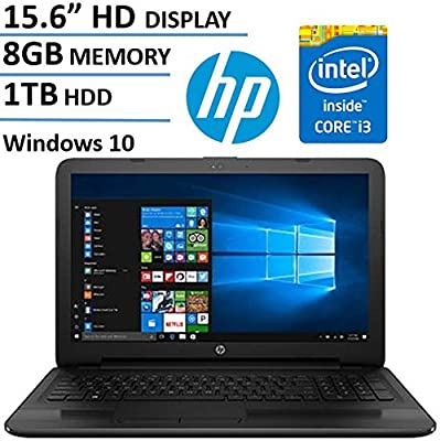 "2017 Newest HP Flagship 15.6"" HD Touchscreen Signature Edition Laptop Computer, Intel Core i3-7100u 2.40 GHz, 8GB DDR4 Memory, 1TB HDD, DVDRW, HDMI, HD Webcam, Bluetooth, Windows 10 Home"