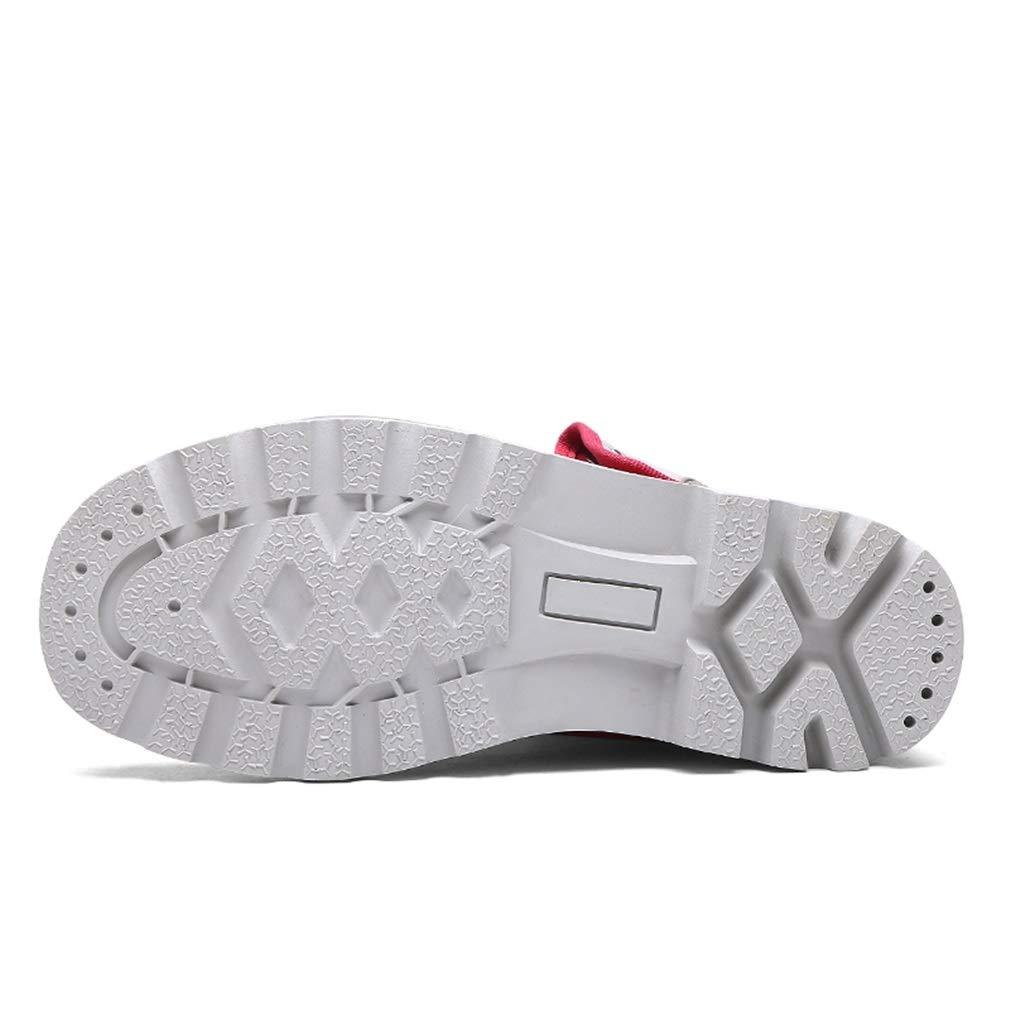 Exing damen Schuhe Schuhe Schuhe High-Top-Turnschuhe Liebhaber Leinwand Schuhe Anti-Rutsch Vintage Martin Stiefel Casual Tooling Schuhe (Farbe   D, Größe   43) B07GVDKDZD Tennisschuhe Jugend überschwemmen b79d1d