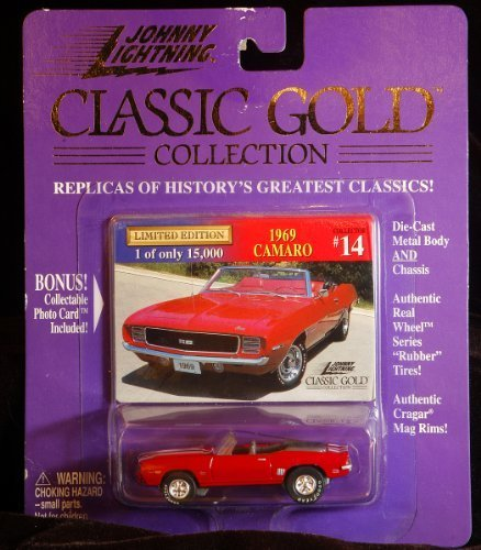 1969 Camaro Johnny Lightning Classic oro Collection  14 by Playing Mantis