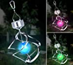 Colour Changing Wind Spinner Solar Light
