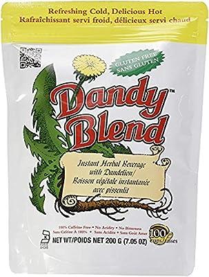 Dandy Blend Instant Herbal Beverage Coffee Substitute with Dandelion -100% caffeine-free, gluten free, NO GMO's