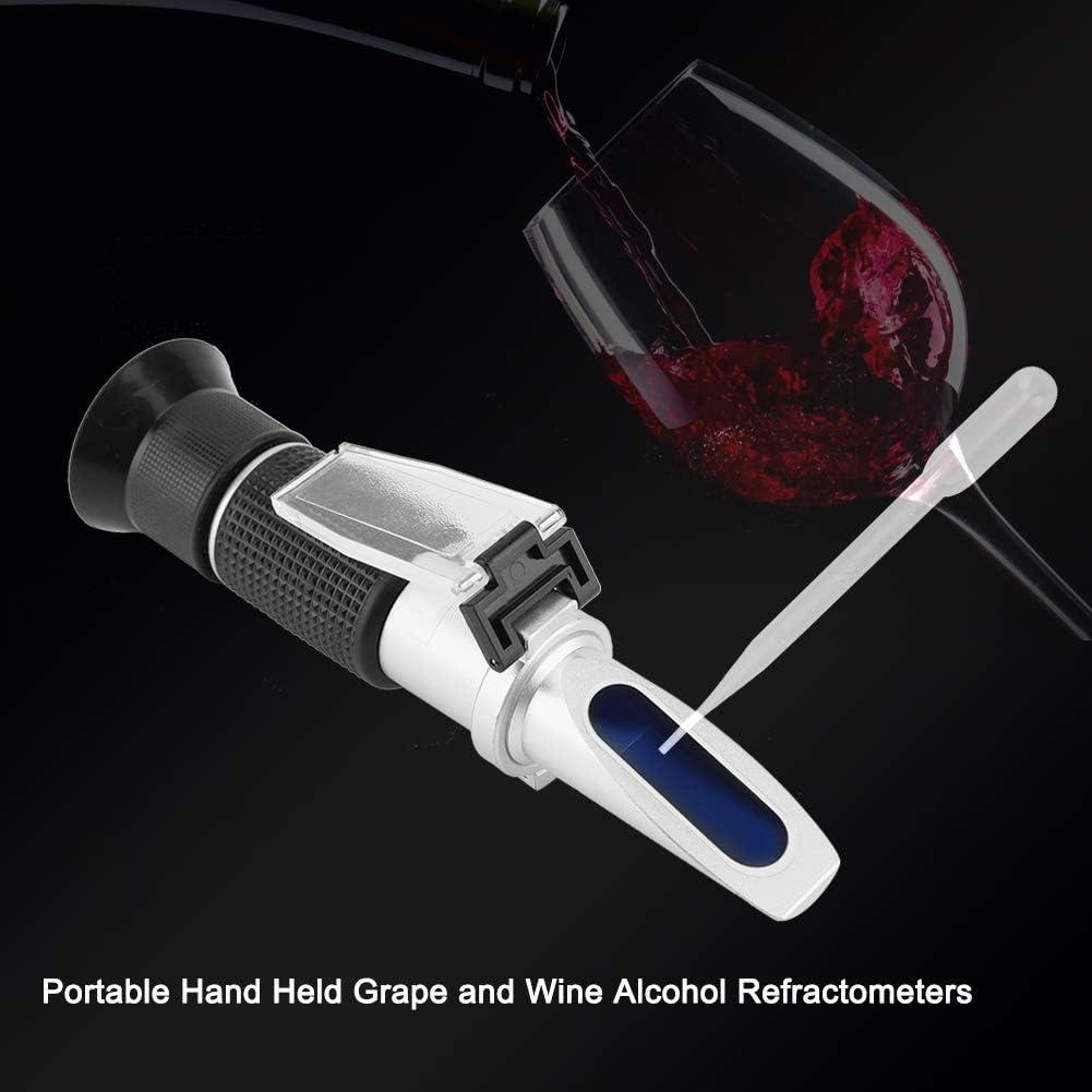 Refract/ómetros de alcohol Refract/ómetros de uva para restaurante Restautant Heavy Duty y Durable