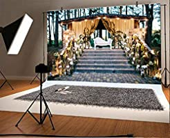 10x6.5ft Wedding Theme Backdrop Polyester Photography Background Wedding Books Flower Tree Birdcage Outdoor Portrait Girl Adults Lovers Background Photo Studio