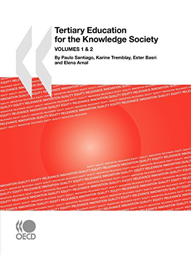 Tertiary Education for the Knowledge Society:  VOLUME 1 : Special features: Governance, Funding, Quality - VOLUME 2:  Sp