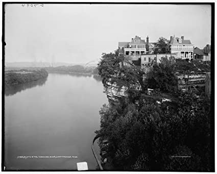 Amazon com: HistoricalFindings Photo: Bluffs,Tennessee River