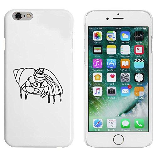 Weiß 'Einsiedlerkrebs' Hülle für iPhone 6 u. 6s (MC00043658)