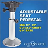 Boat Seat Pedestal Adjustable 18''-25''