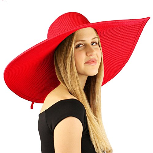 - Summer Elegant Derby Big Super Wide Brim 8