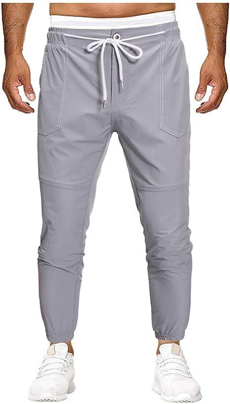 Pantalones de tela para hombre de Theshy, para chicos y chicas ...