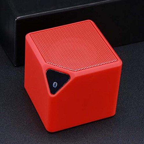 Agua Cubo Bluetooth Altavoz Portátil Inalámbrico Bluetooth Altavoz,Red