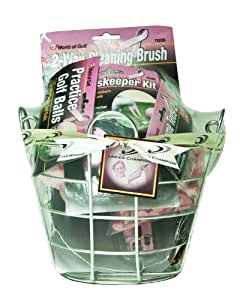 Jef World of Golf Gifts and Gallery, Inc. Pink Bucket of Gifts