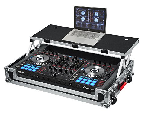 (Gator Cases G-TOUR Series DJ Controller Road Case with Sliding Laptop Platform - Custom Fit for Pioneer DDJ-SX and DDJ-RX; (G-TOURDSPDDJSXRX))