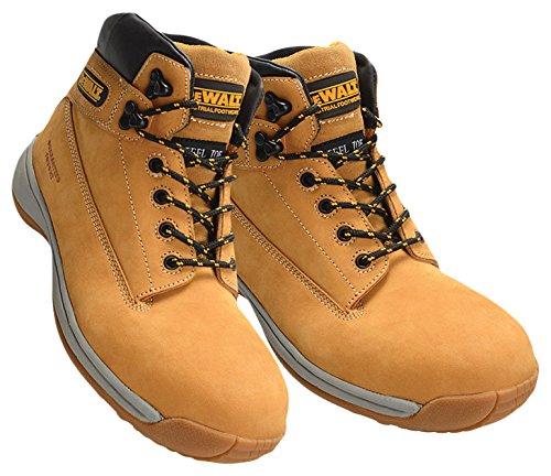 Bryson 18084 Dewalt-Stivali di sicurezza Extreme, misura: 45/46, colore: grano
