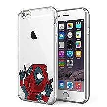 iPhone 6 / iPhone 6S Case, [Superhero Series] Litech Ultra Slim Flexible Scratch-Resistant (Dead Pool 2)