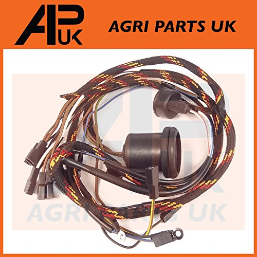 Wiring Loom Harness with Dynamo compatible with Massey Ferguson 135 Tractor Perkins AD3.152 Engine: