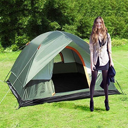 STYHOMSUN Windschutz-Zelt, für 3-4 Personen, zweilagig, wasserdicht, Pop-Up-Zelt, für Outdoor-Aktivitäten, Wandern, Strand, Reisen, Tienda