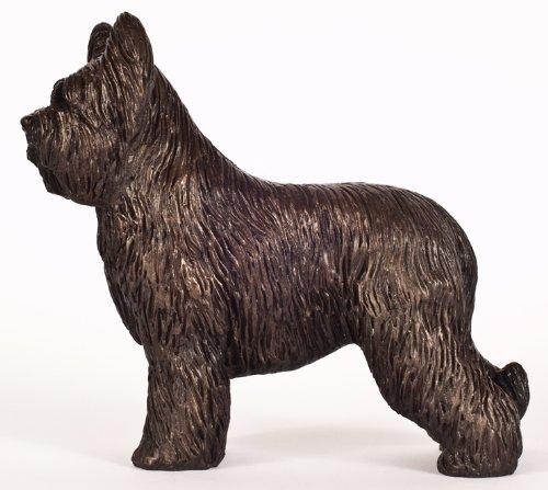 - DannyQuest Designs Briard: Cold-cast Bronze Figurine 6.25 Inches Long