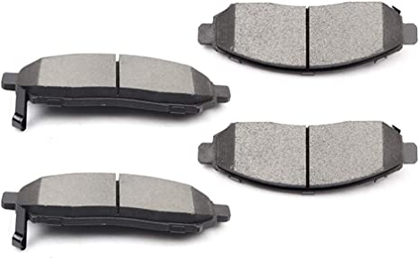 2008 2009 2010 2011 2012 For Nissan Pathfinder Front and Rear Ceramic Brake Pads