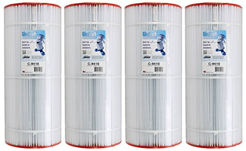 4) Unicel C-9410 100 Sq Ft Pentair Clean Clear Predator Cartridge Filter R173215 by Unicel