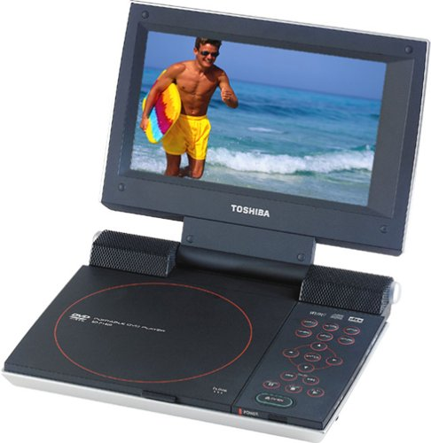 Toshiba SD-P1400 7-Inch Portable DVD Player