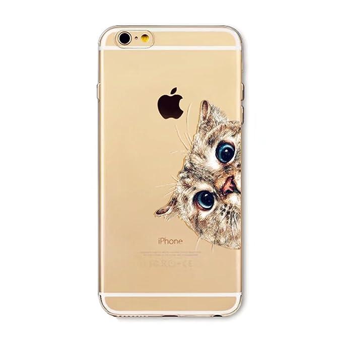 iPhone 6 Plus Hülle,iPhone 6 Plus/6S Plus (5.5 Zoll) Schutzhülle, MUTOUREN Transparent Durchsichtig TPU Silikon Crystal Cover
