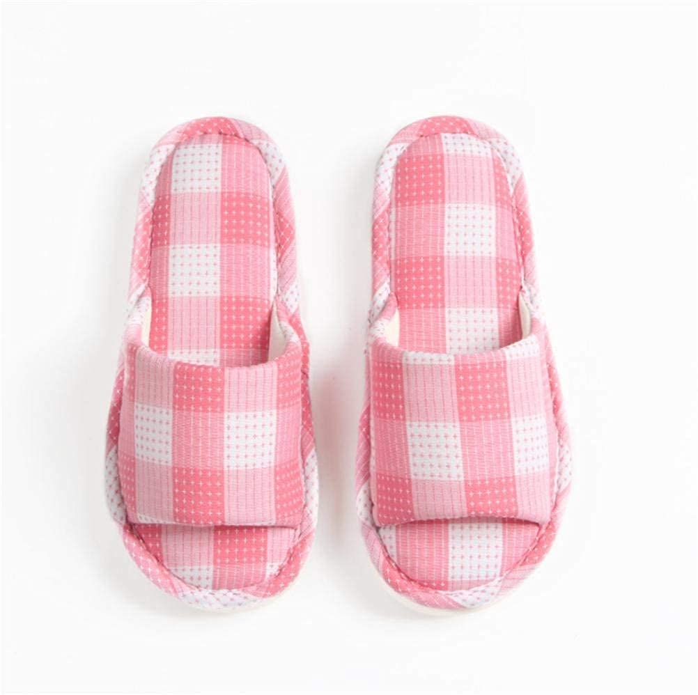 3 JaHGDU Ladies Casual Slippers Home Slippers Indoors Leisure Linen Slipper Quality Elegant for Women Living Room shoes