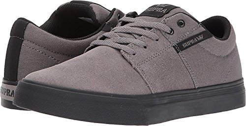 Supra - Mens Bandit Skate Shoes Carboncino Canvas / Nero