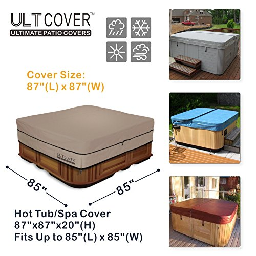 ULTCOVER 100% 600D Polyester Cover Outdoor 85 x inch
