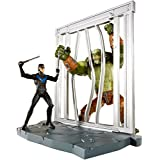 DC Comics Multiverse 4-Inch Arkham City Nightwing and Killer Croc Figure 2-Pack