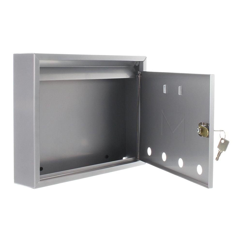 profirst Mail PM 450/Buz/ón Plata de chapa de acero galvanizado