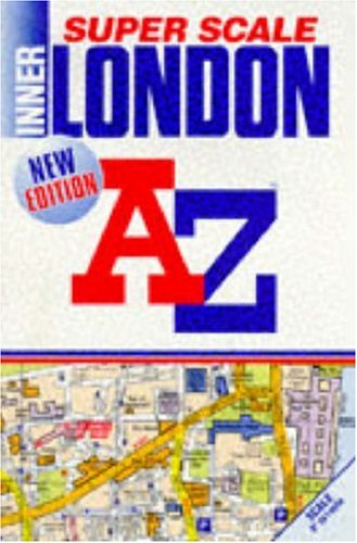 A. to Z. Super Scale Atlas of Inner London: 1m-9
