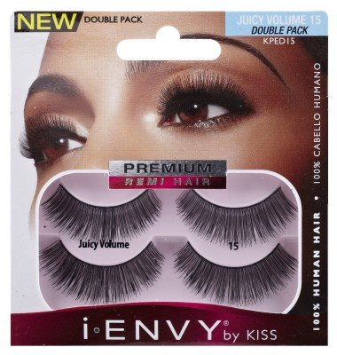 KISS i-ENVY Premium Juicy Volume 15 Double Pack (KPED15)