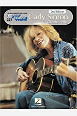 Carly Simon - Greatest Hits: E-Z Play Today Volume 221 Paperback