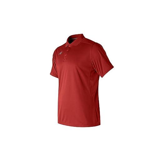 939d9b8e7 Amazon.com : New Balance Mens Nb Performance Tech Polo : Clothing